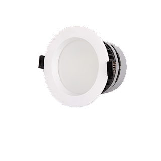 LED Premium Downlight Round ∅11x7.4CM Cut Out: ∅9CM 100-240V 120 Degree 5000K IP44 Epistar 2835 50 83RA 850LM 0.9 85LM/W 10W White