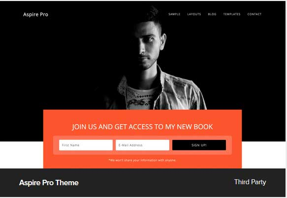 Aspire Pro Theme Award Winning Pro Themes for Wordpress Blog : Award Winning Blog
