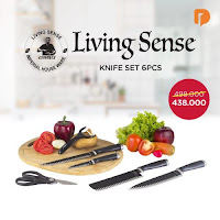 Dusdusan Living Sense Knife Set (Set of 6) ANDHIMIND