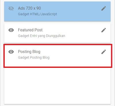 Menampilkan Profil Blogger Di Bawah Postingan