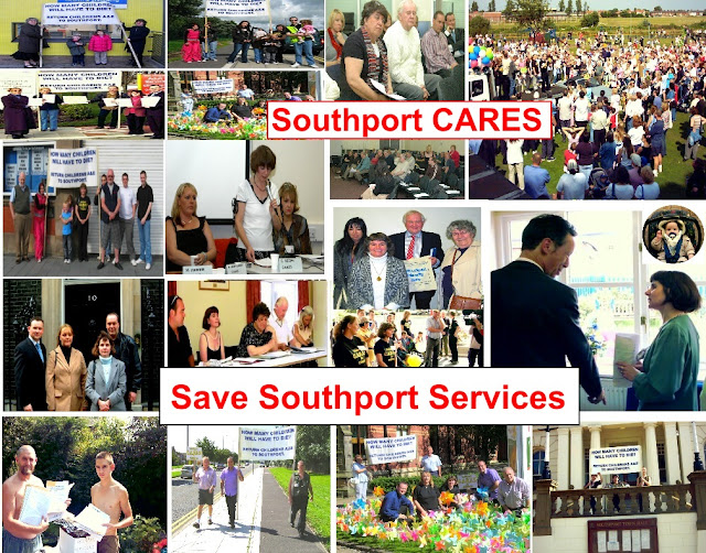Image result for cares  protest ots news southport