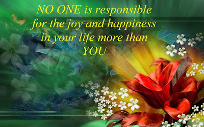 most beautiful no one is responsible for the joy,
