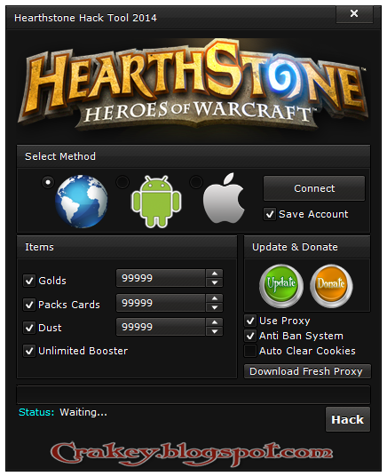 Heartstone Hack Tool 2017
