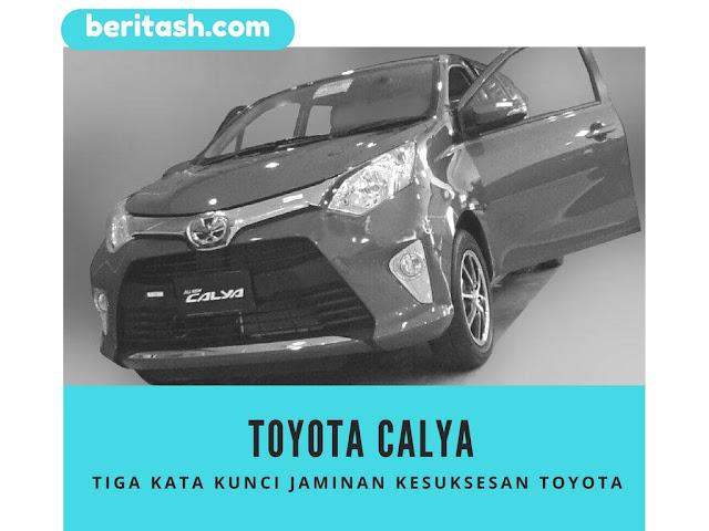 Toyota calya mobil murah LCGC