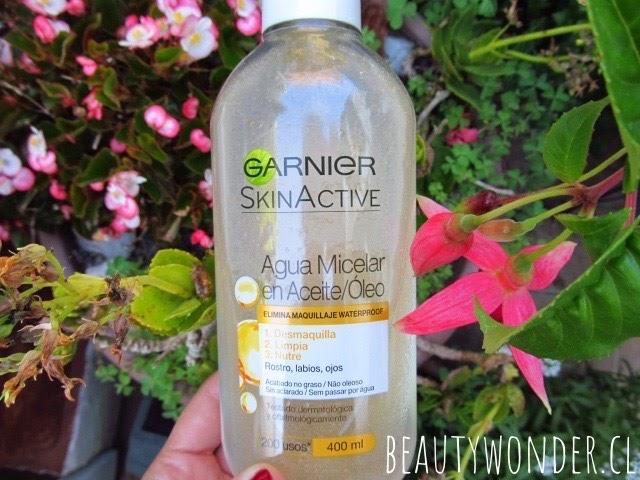 agua micelar en aceite Garnier opiniones