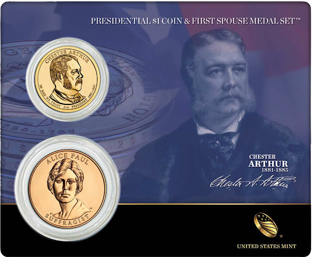 Chester Arthur 21st President of the United States