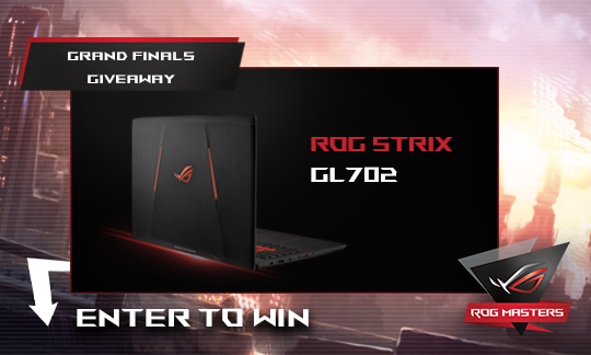 ROG GRAND MASTERS FINAL GIVEAWAY