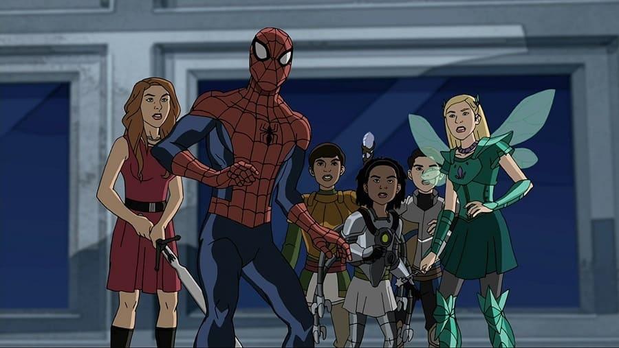 Imagens Ultimate Homem-Aranha - 1ª Temporada