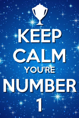 Keep Calm You Are Number 1