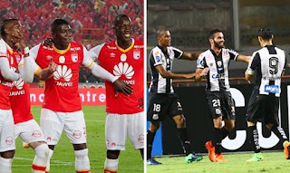 Independiente Santa Fe vs Santos FC en Copa Libertadores 2017
