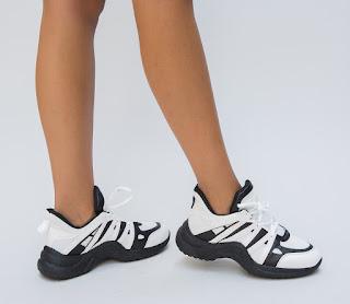 Pantofi Sport Remanda Albi