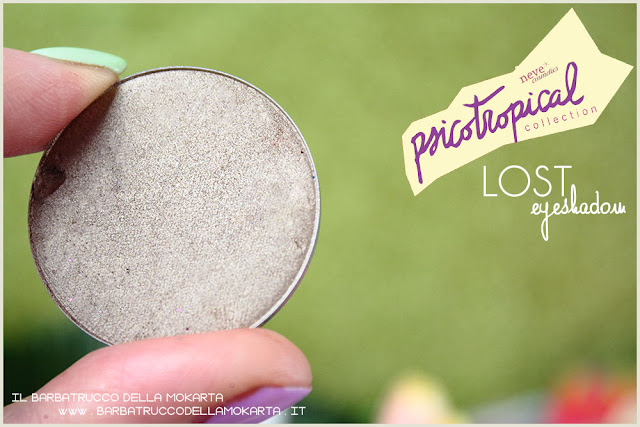 eyeshadow ombretti LOST psicotropical collection neve cosmetics