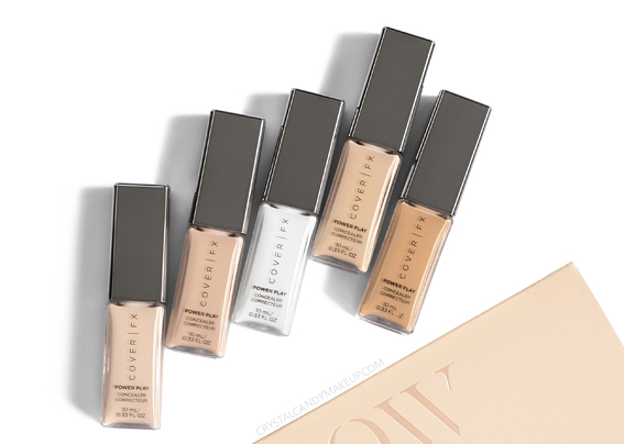Cover FX Power Play Concealer Review Photos Swatches Before After