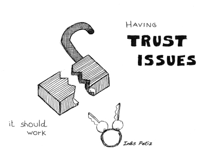 365 illustrations with type: 30  Trust issues