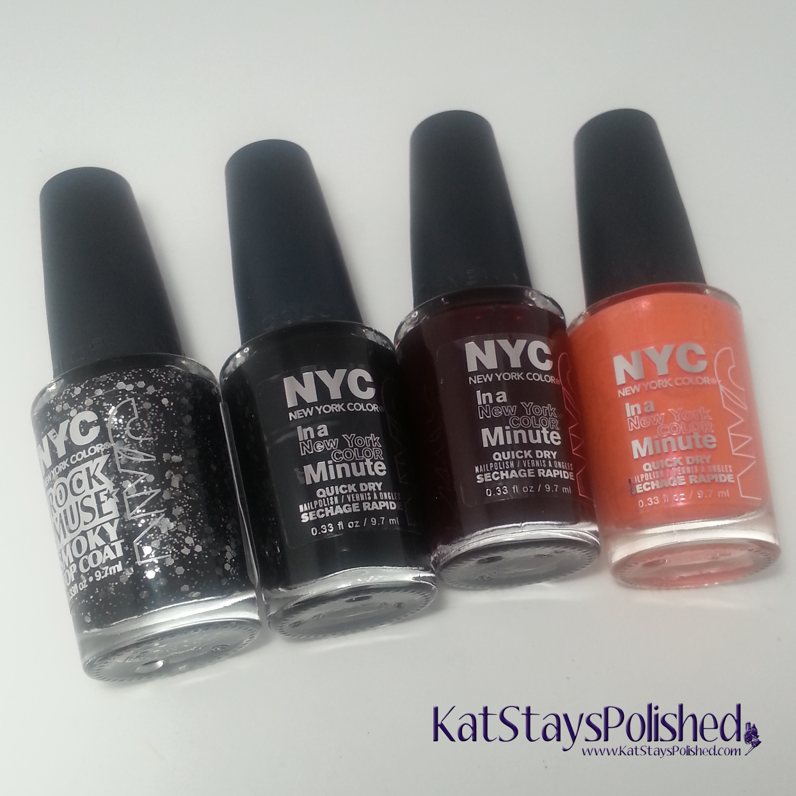 NYC New York Color - Midnight Beauty Collection | Kat Stays Polished