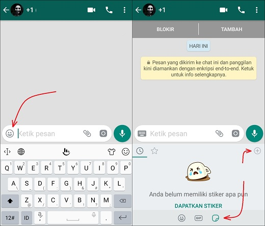 Cara Mendapatkan Stiker WhatsApp Untuk Kirim Pesan Terbaru