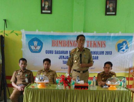 DisDikbud Selayar Gandeng LPMP Sulsel, Latih Guru Implementasikan K13