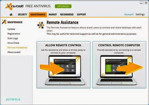 remote assistance by avast