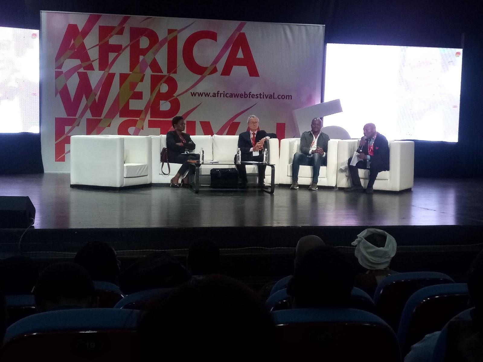 AFRICA WEB FESTIVAL 2018 :Première journée de la 5eme éditions de l''Africa web festival, l'Afrique 3.0 #AWF2018.
