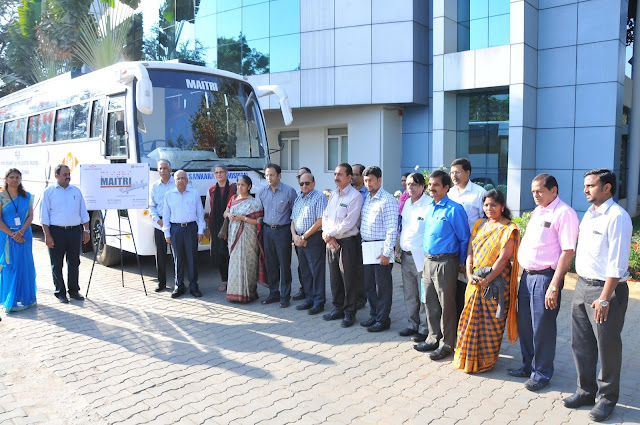 Maitri Bus Inauguration