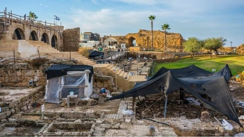 Des pièces d'or rairissimes découvertes dans la ville de Césarée