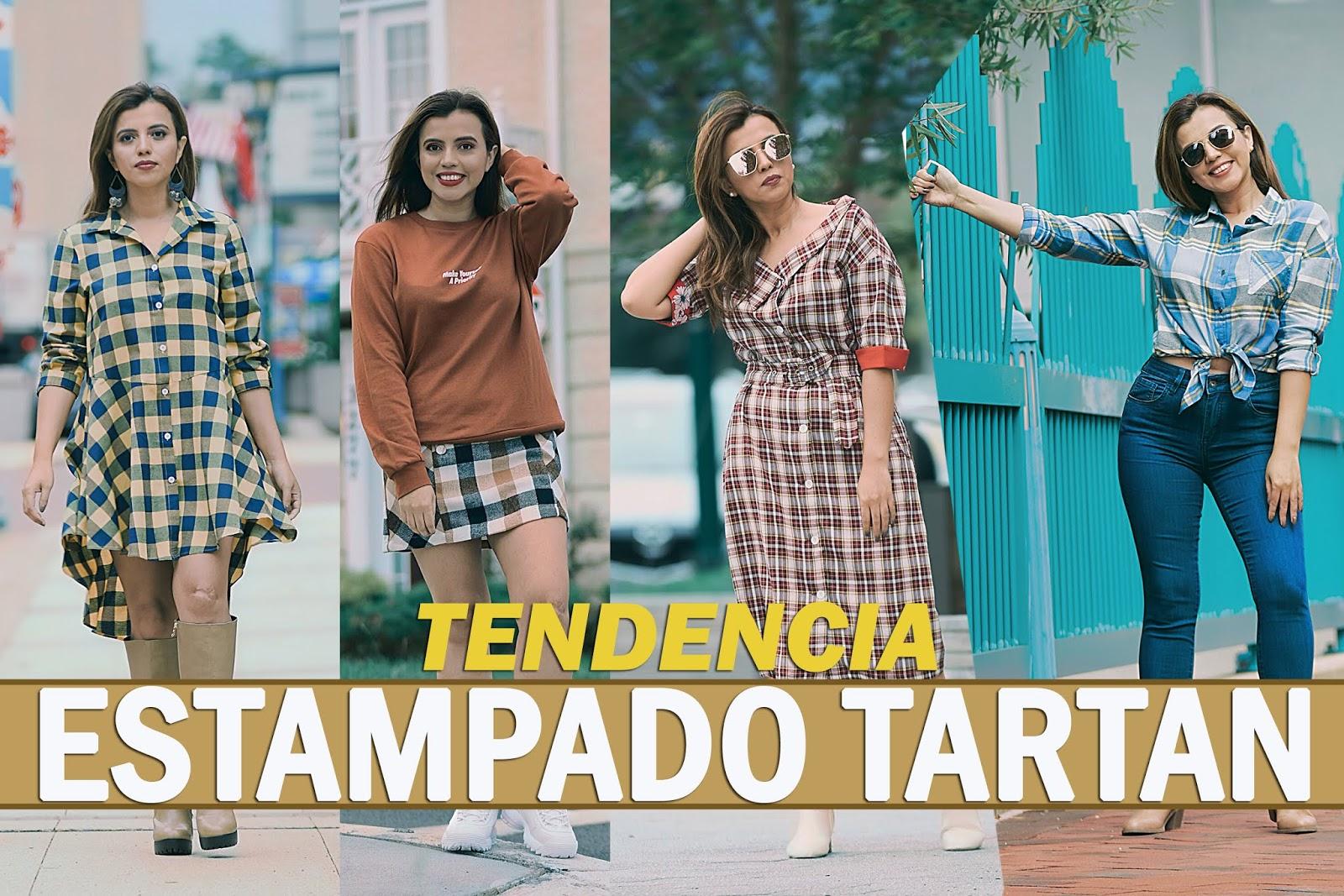Mari Estilo- Tendencia Tartan- youtuber-fashionblogger