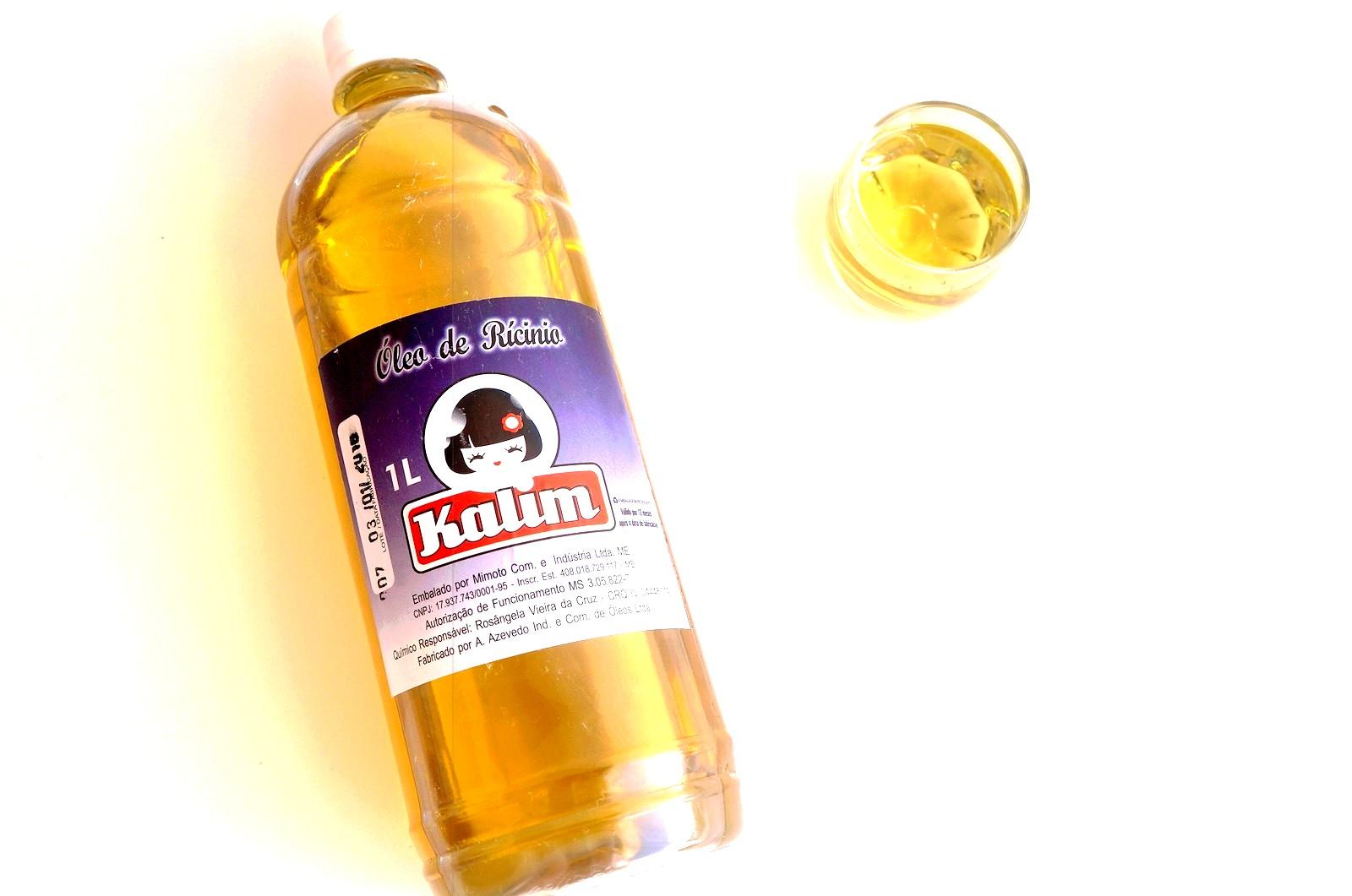 óleo de ricino 1 litro