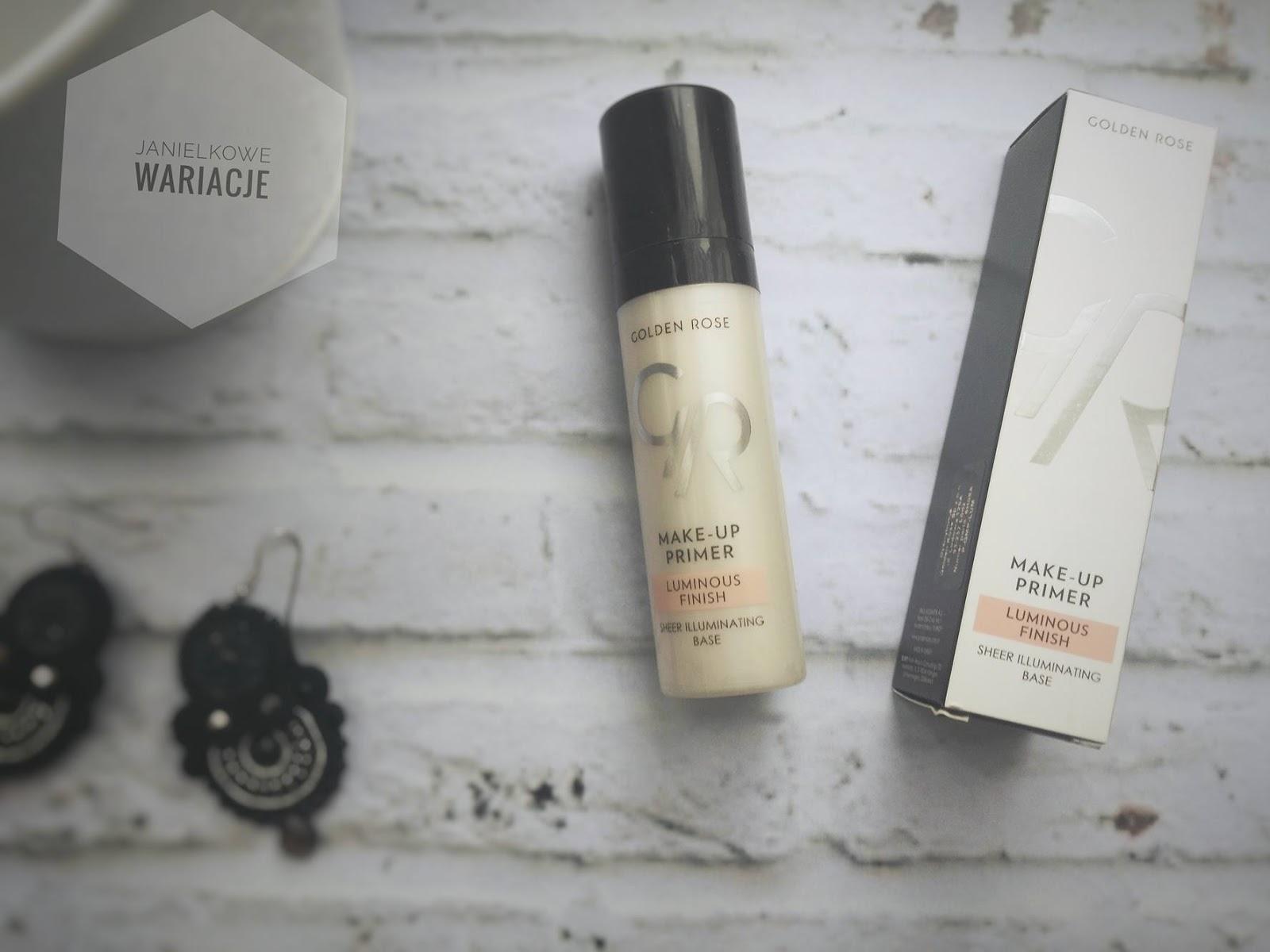 Make-Up Primer Luminous - Rozświetlająca baza pod makijaż - Golden Rose