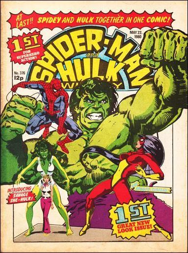 Spider-Man and Hulk Weekly #376