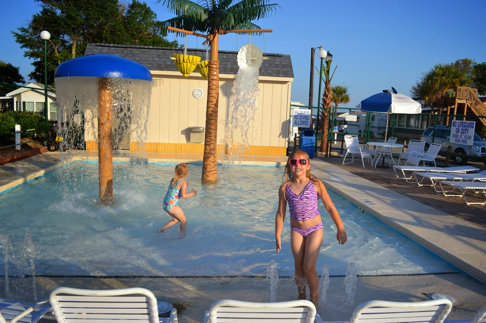 Apache Campground Splash Pad Myrtle Beach