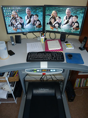 The ins and outs of using a treadmill desk - and why I love mine!