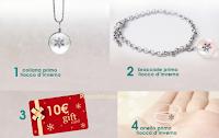 Logo Vinci gratis gift card e gioielli con un click