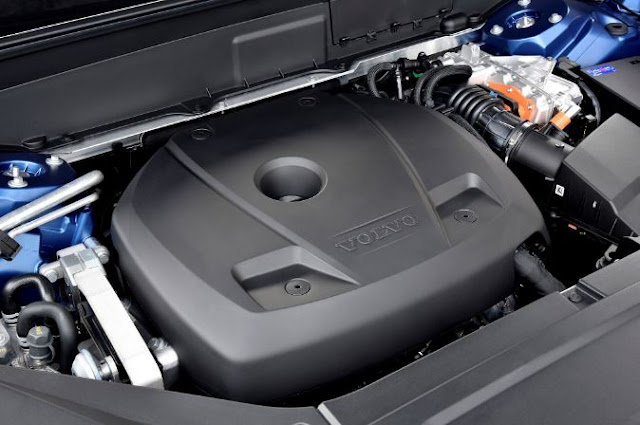 2017 Volvo XC90 T6 Engine