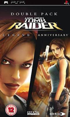 Tomb Raider Anniversary PSP Cso Iso Android Ukuran Kecil