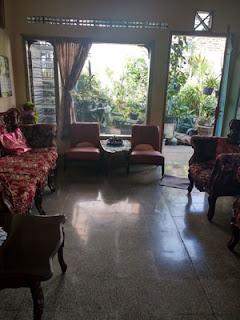 Ruang tamu rumah di Jl. Ontoseno VII No. 49 Malang