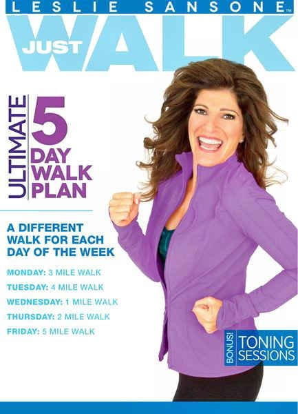 My Daily Workouts: Leslie Sansone - 5 Day Ultimate Walk Plan