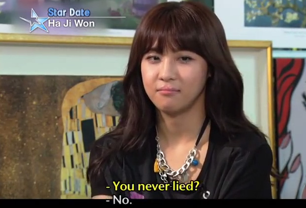 Ha Jiwon - you never lied? No