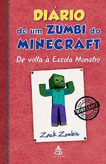 Resenha - Diário de um Zumbi do Minecraft: De volta à Escola Monstro