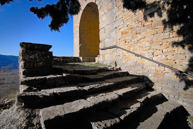 La escalera de la iglesia