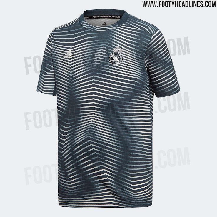 78a0af90fa Adidas x Parley Real Madrid 2019 Pre-Match Jersey Released - Footy ...