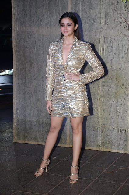 Alia Bhatt Photos at Manish Malhotra's 50th Birthday bash