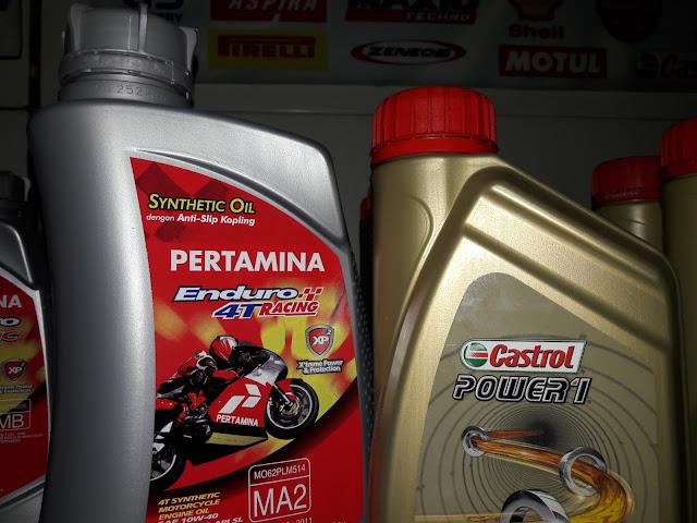 Oli Castrol Power 1 vs Enduro Racing berdasarkan pengalaman