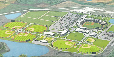 Rendering of Atlanta Braves spring training at The West Villages