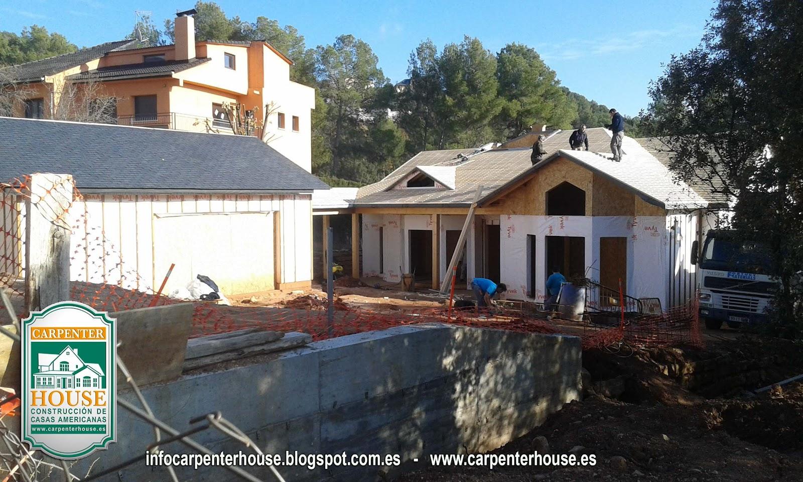 Carpenter house 5 fase construcci n casa en el vall s - Casas en valles occidental ...