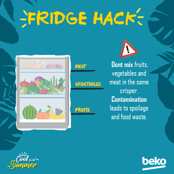 Keeping your food safe while its in the fridge