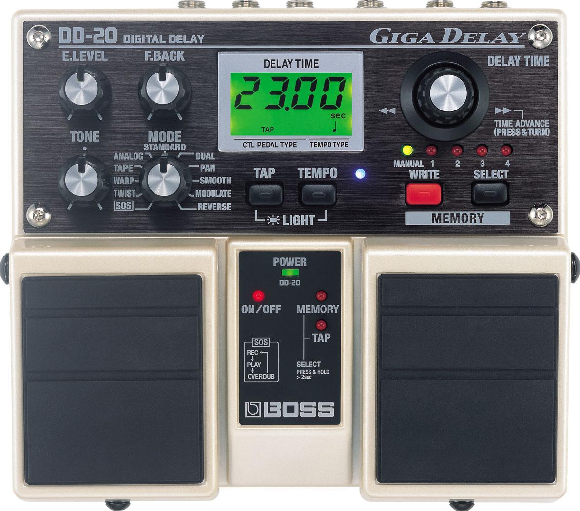 boss dd 7 digital delay pedal review creative edge music. Black Bedroom Furniture Sets. Home Design Ideas
