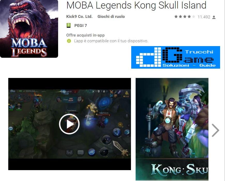 download game moba legends kong skull island
