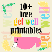 free get-well printables