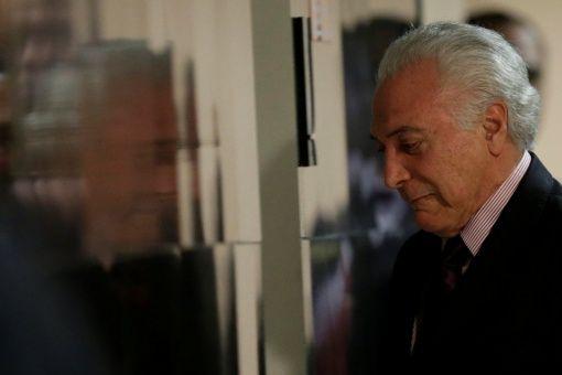 Policía de Brasil pide revelen datos de Lava Jato sobre Michel Temer