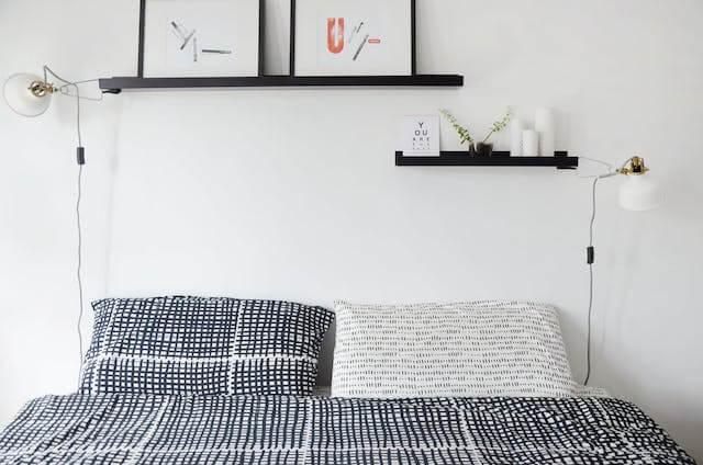 dormitorio en piso de alquiler